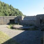 Posizione per cannoni presso l'Alpe delle Lagonce - Cima di Medeglia