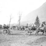 Battaglione in uscita dalla postazione (fonte: Swiss Archives)