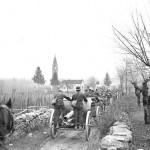 Battaglione in marcia a Cugnasco (fonte: Swiss Archives)