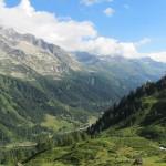 Vista sulla Valle Bedretto