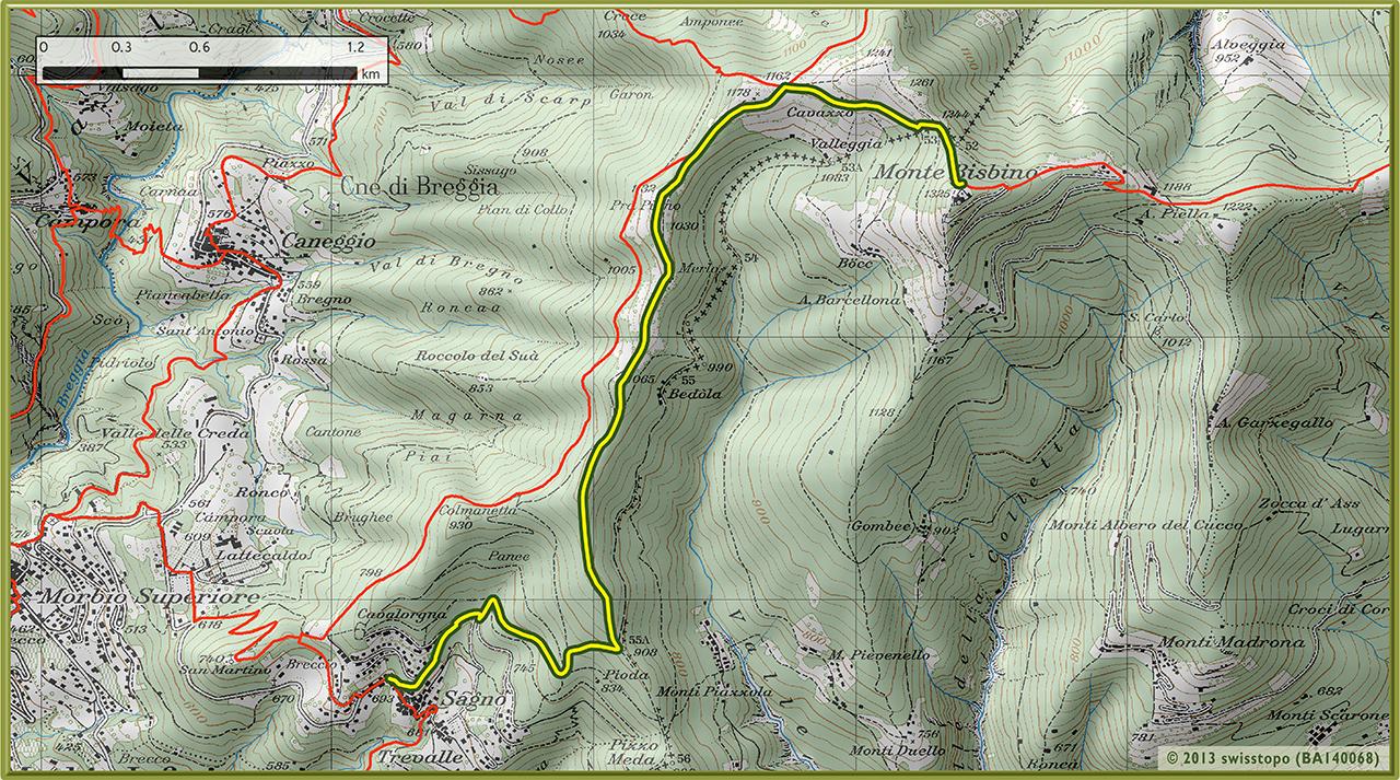 1b Sagno-Monte Bisbino