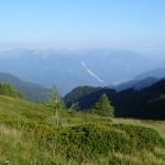 Biscia, vista verso nord