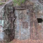 Entrata camuffata del fortino di Cima di Lago 1