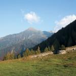 Corno del Gesero dall'Alpe della Costa