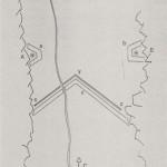 Linea Lona, piano tecnico sbarramento vallata (fonte: ©  Maurice Lovisa, La Linea LONA a Lodrino, 1998)
