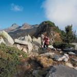 Passo San Jorio Gesero sulla cresta