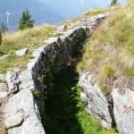 Trincea Alpe di Gesero