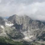 Vista sulle montagne attorno al San Giacomo