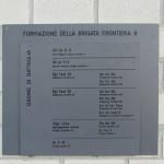 Monumento BrFr9: formazione della brigata