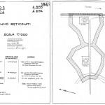 Piano dei reticolati (fonte: inventario ADAB 1998)