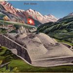 Forte Airolo, cartolina d'epoca (fonte: Militärpostkartensammlung der Bibliothek am Guisanplatz)