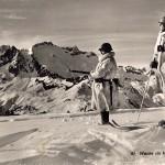 Guardia in alta montagna (fonte: Militärpostkartensammlung der Bibliothek am Guisanplatz)