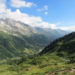 Vista sulla Valle Bedretto da Grandinagia