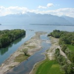 Le Bolle di Magadino e la foce del Ticino  (foto: Dipartimento del territorio)