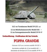 Foppa Grande - Gotthardfestung, VBS armasuisse Bauten, 2004