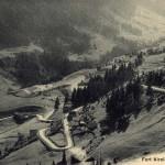 Forte Airolo e strada del Gottardo (fonte: Militärpostkartensammlung der Bibliothek am Guisanplatz)