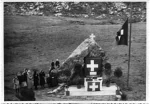 Gola di Lago 1942 cerimonia caduti GF9